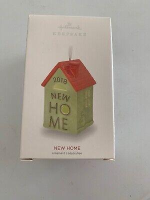"HALLMARK KEEPSAKE ORNAMENT 2018 ""NEW HOME"" NIB FREE SHIPPING for sale  Shipping to Canada"