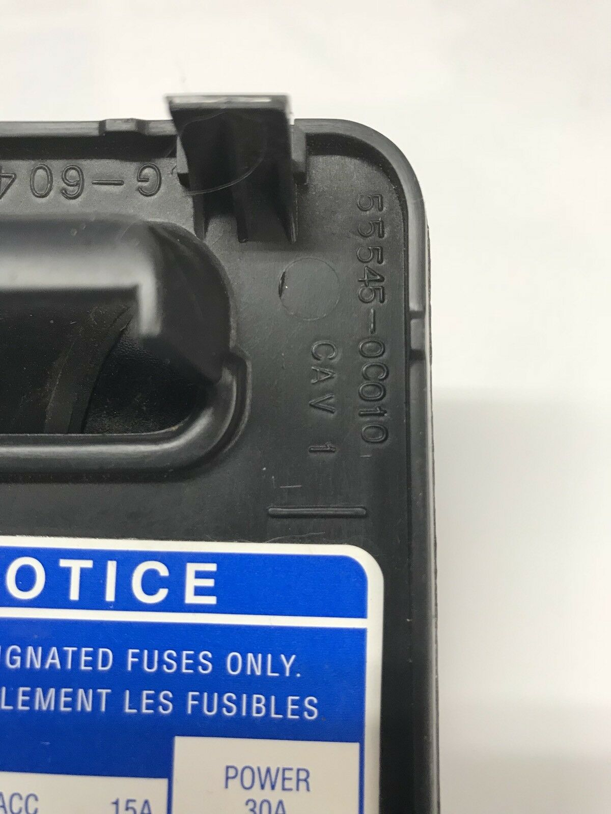 Toyota Tundra Sequoia Fuse Cover Black 2000-2006 OEM Free Shipping