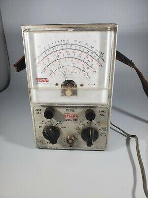 Vintage Eico Peak to Peak Model 232 vtvm