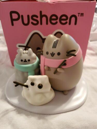 Pusheen Cat ~ Stormy Snow Day Vinyl Figure/Pusheen Box Winter 2018*Exclusive*NEW