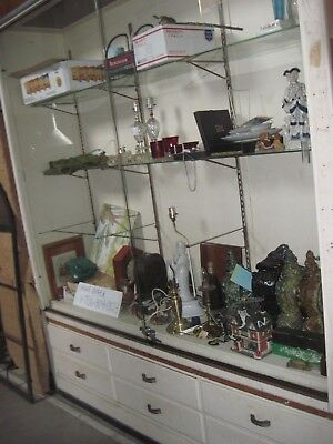 Reduced 8 Ft High Huge Glass Front Locking Commercial Display Case Drawers 6ft