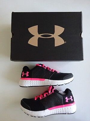 Under Armour Women's Micro G Fuel Running Shoes Black/White