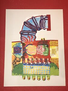 """The Air Maker"" Serigraph signed"
