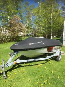 2007 215 HP Speedster season boat and trailer