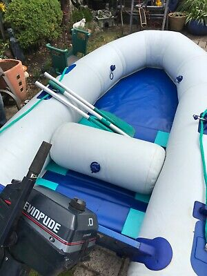 Typhoon inflatable tender and outboard package