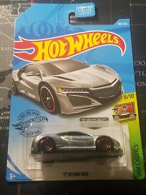 Hot Wheels HW Exotics 9/10 ZAMAC 17 Acura NSX 199/250