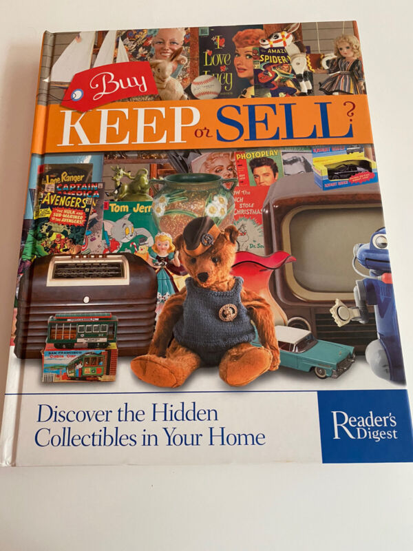 Buy Keep Or Sell Collectibles Guide Reference Book Collectible Price Guide