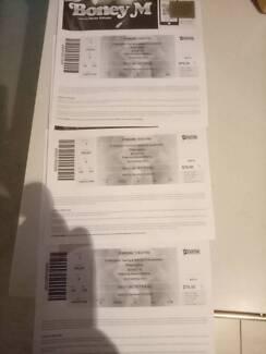 Boney M tickets tonight