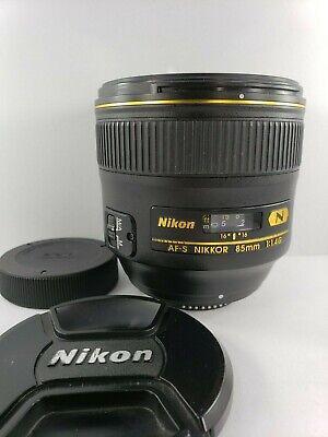 Nikon AF-S FX NIKKOR 85mm f/1.4G Lens with Auto Focus for Nikon DSLR Cameras Autofocus Telephoto Digital Camera