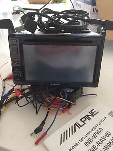 "Double  Din Alpine INE-W960 in dash navigation 6.1"" GPS"