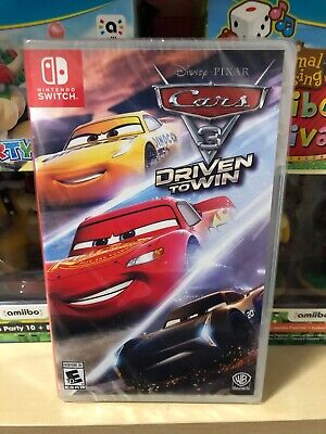 Disney's Cars 3 Driven To Win Nintendo Switch Pixar Brand New Factory Sealed