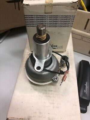 Wisconsin Motors Continental Engines Part Number Yf49as1 Distributor Bkn Aenl