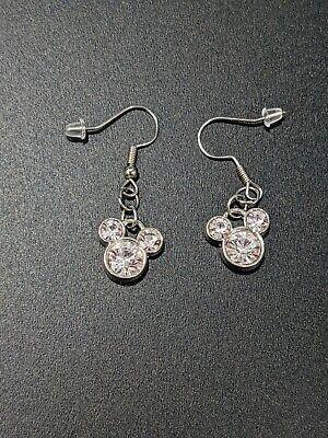 Mickey Mouse Shiny Dangle Earrings