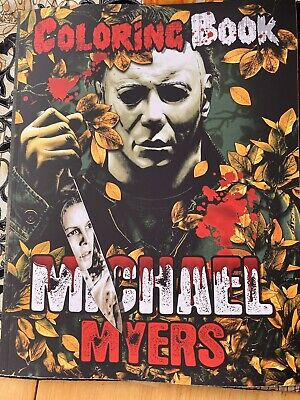 Michael Myers Halloween Coloring Book 1978