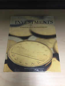Investments: analysis and management- 3rd canadian edition