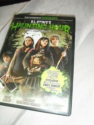 R.L. Stines The Haunting Hour: Dont Think About It DVD Full Screen  ](About The Halloween Movies)