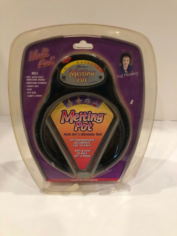 Ranger Melting Pot Candy Glue Soap Wax Art Jewelry Crafts Suze Weinberg ~ NEW ~