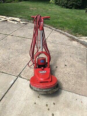 Clarke 18 1000dcr Floor Polisher Scrubber Sander Buffer Cleaning Machine Used