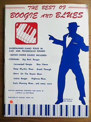 The best of Boogie and Blues, piano