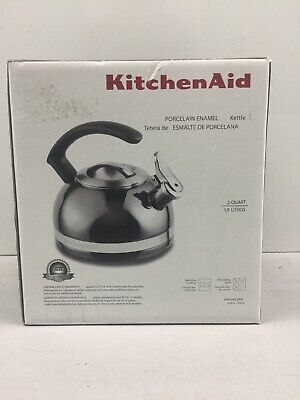 KitchenAid Porcelain Enamel Kettle 2-quart