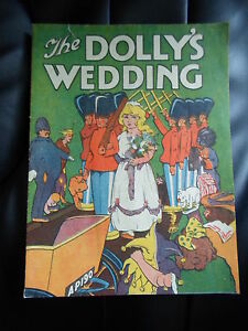 RARE-Vintage-The-Dollys-Wedding-Quarto-Series-No-27-Collectable-Paperback