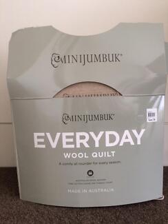 minijumbuk wool quilt Hawthorn Boroondara Area Preview