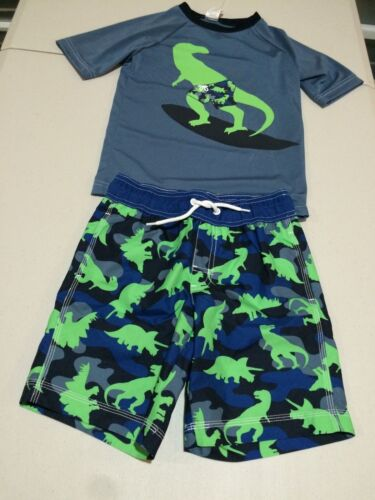 NWT Gymboree boy rash guard dinosaur set  2T,3T,5/6,7/8,10/12