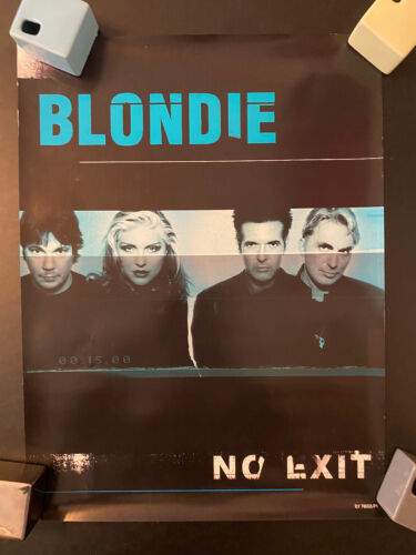 Blondie No Exit double sided rolled poster