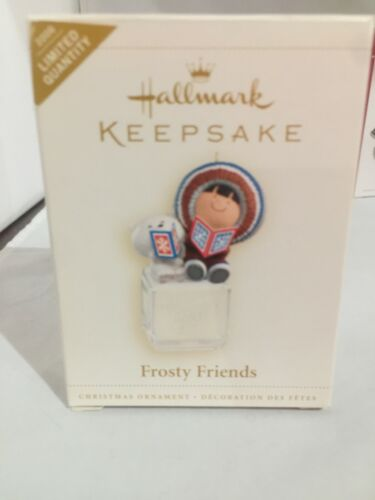 New HALLMARK 2006 FROSTY FRIENDS Ornament Debut  REPAINT Limited
