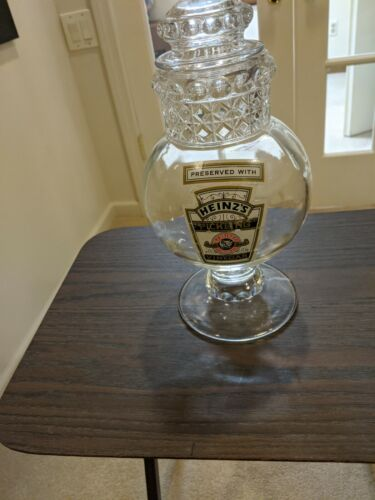 ANTIQUE, VINTAGE, APOTHECARY, CANDY JAR WITH LABEL