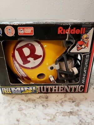 - Riddell NFL Washington Redskins Authentic Throwback Mini-Helmet