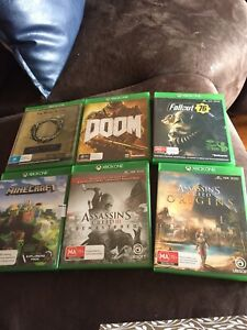 Xbox one great condition 6 games