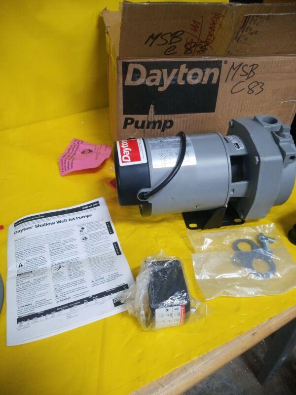 DAYTON 1D874 Shallow Well jet pump