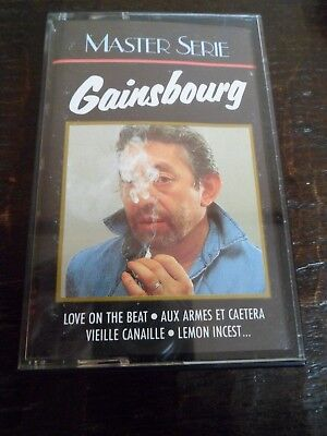 GAINSBOURG - Love on the Beat - K7 Audio - Master Série - Polygram - 832 230-4