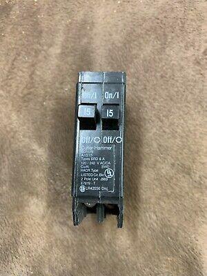 Cutler-hammer Bd1515 Circuit Breakers 120240vac 2pole 20a New