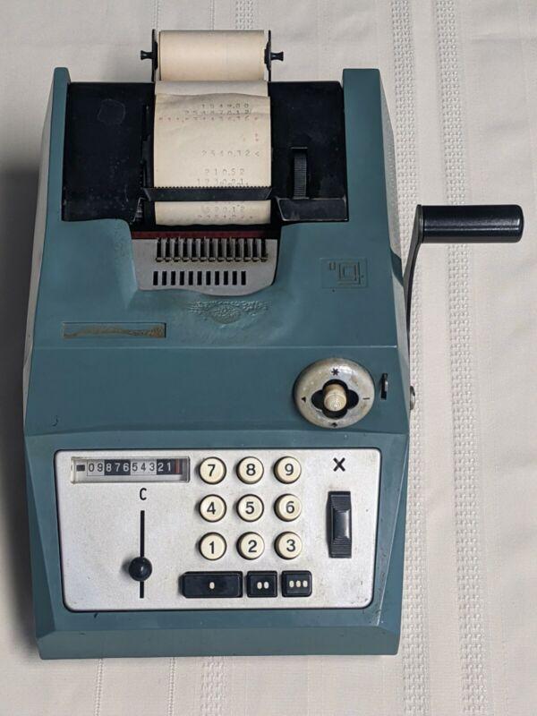 Olivetti Underwood Suma Prima 20 Adding Machine Vintage