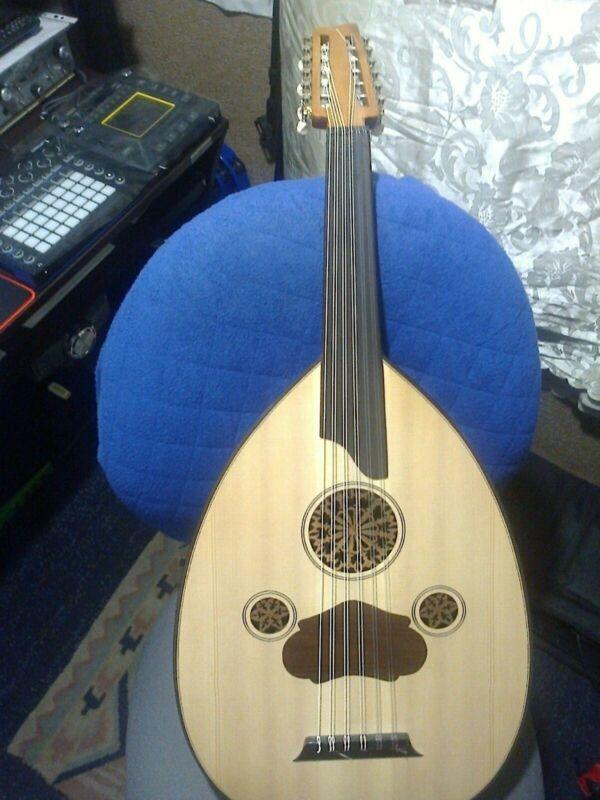 arabic oud string instrumentOud With Guitar Pegs