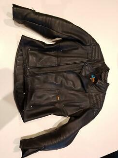 Walden Miller Motorcycle Jacket   Size 46  Great Condition