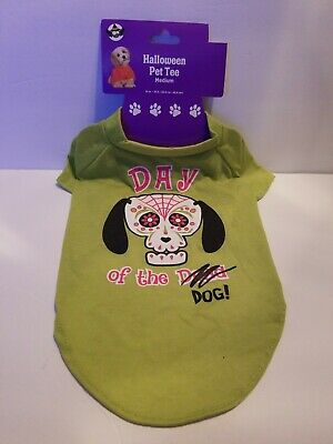 DAY OF THE DEAD/DIA DE LOS MUERTOS HALLOWEEN DOG T-SHIRT~PERFECT FOR YOU DOG](Halloween T Shirts For Dogs)