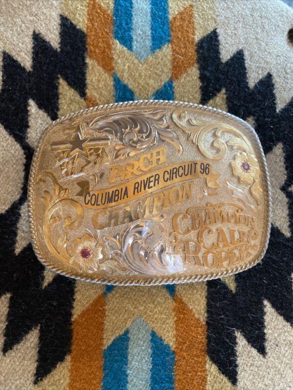 PRCA Sterling Cowboy Belt Buckle Finals Champion