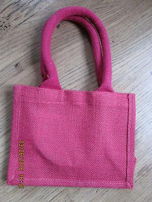 5x plain Small jute bags,5pcs. £7.99, Christmas discount](Discount Tote Bags)