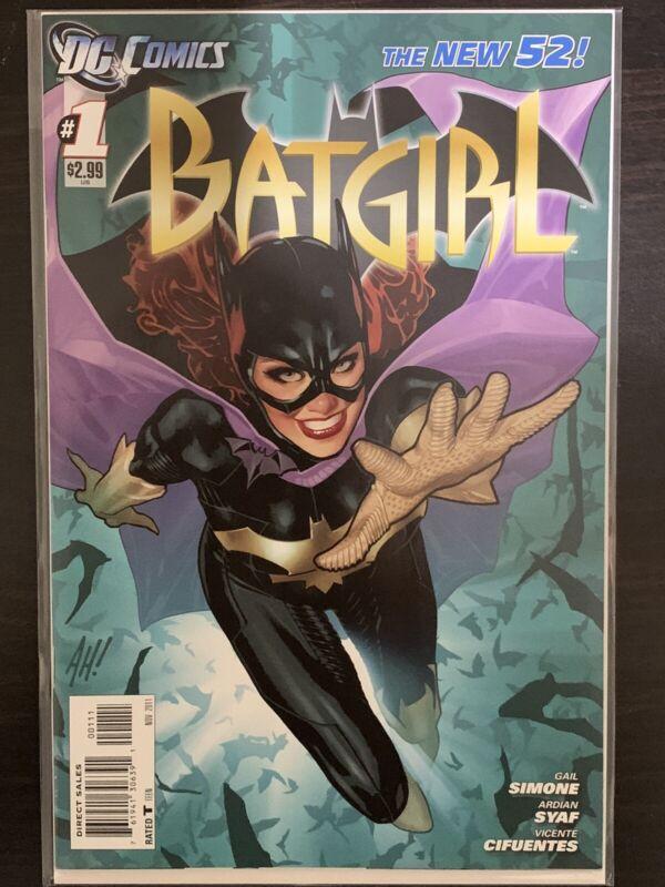 Batgirl #1 Adam Hughes Variant First Print