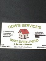 Dow s services servicing a large area give us a call