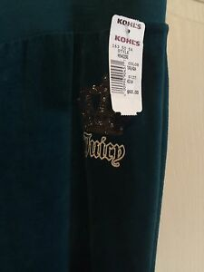 Brand new JUICY COUTURE Velour Sweats  London Ontario image 6