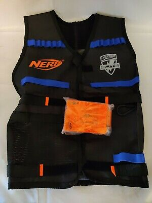 Tactical Vest Kit for Nerf N-Strike Elite Vest w/ 2 Magazines