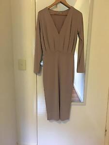 ASOS Blush Pink Midi Formal Dress Size 10 Glen Iris Boroondara Area Preview