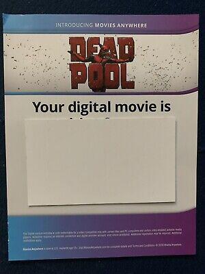 Deadpool *4K DIGITAL ONLY* from a 4k Steelbook (Read Description)