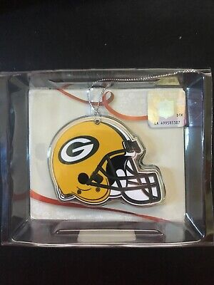 Green Bay Packers Topper Scott Nickel Plated Metal Ornament New