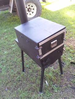 camping Wood fired  stove with oven