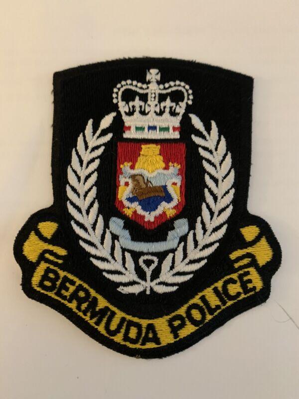 Bermuda Police Patch